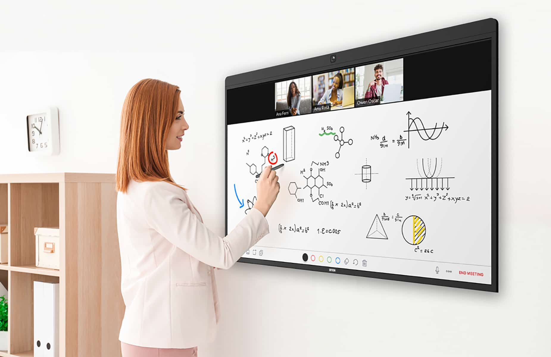 Remote Learning with Virtual Classrooms